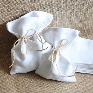 Linen Wedding favours