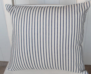 Ticking Stripe Cushion Cover