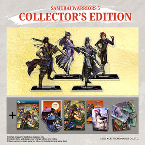 SAMURAI WARRIORS 5 - COLLECTOR'S EDITION - PC Steam
