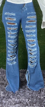 Load image into Gallery viewer, Look Back At It Jeans : Dark Blue
