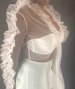 Dreamy Mesh Blouse