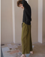Afbeelding in Gallery-weergave laden, Linen wide oversize trousers for men in 3 colors