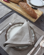 Afbeelding in Gallery-weergave laden, Linen table placemat in natural thick flax