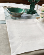 Afbeelding in Gallery-weergave laden, Linen table placemat in off-white