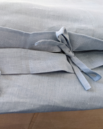Afbeelding in Gallery-weergave laden, Dusty blue set from soft linen