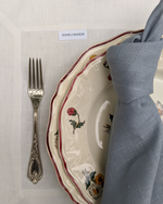 Load image into Gallery viewer, Linen napkins in dusty blue