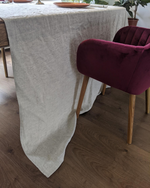 Afbeelding in Gallery-weergave laden, Tablecloth from soft natural linen