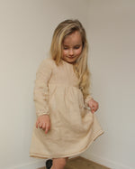 Load image into Gallery viewer, Linen dress Beige