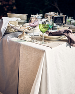 Load image into Gallery viewer, Tablecloth from white soft linen