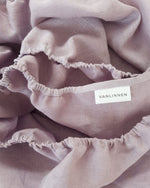 Load image into Gallery viewer, Lilac bedding set from soft linen