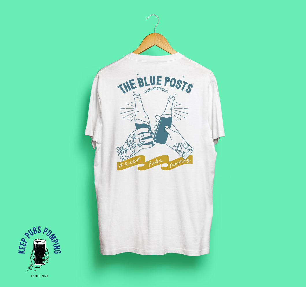BLUE POSTS X EMMY LUPIN | TEE