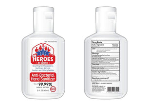 best smelling hand sanitizer | our heroes at work