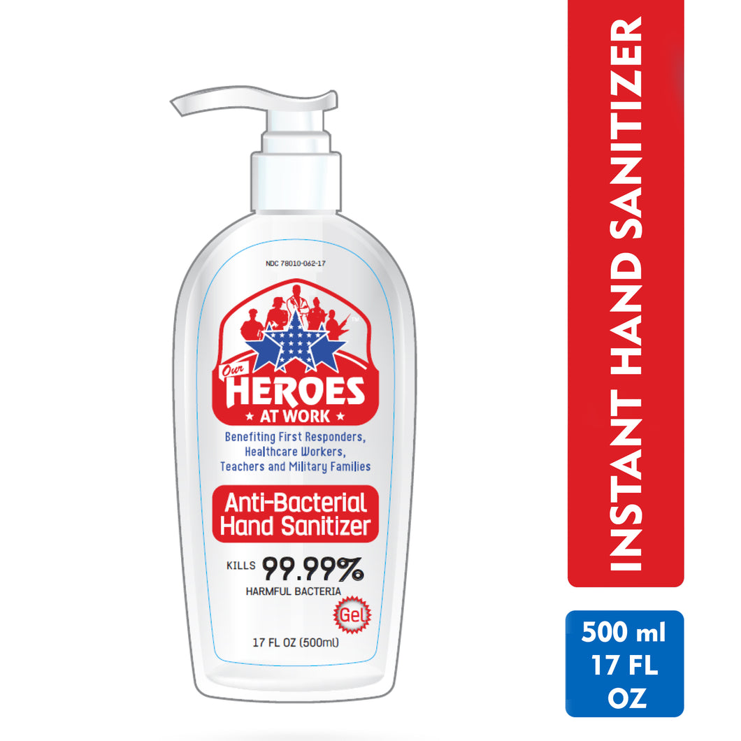 hand sanitizer 500 ml | our heroes at work