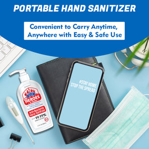 hand sanitizer pump | ourheroesatwork