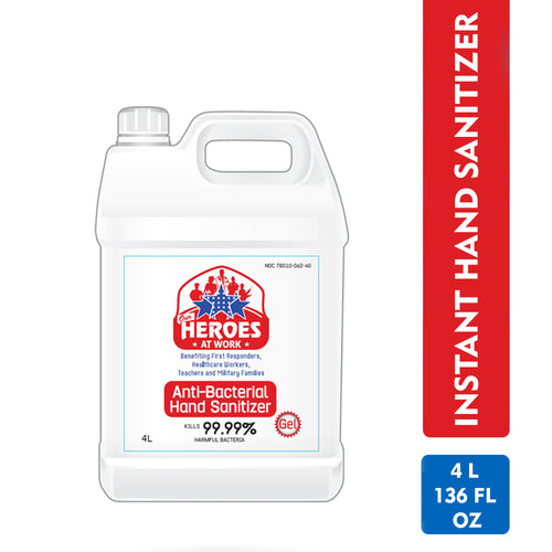 Refill pack of Hand sanitizer |  our heroes at work