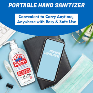 pocket sanitizer | our heroes at work