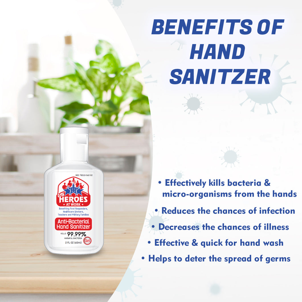 mini hand sanitizer | our heroes at work