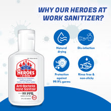 Load image into Gallery viewer, hand sanitizer gel | our heroes at work