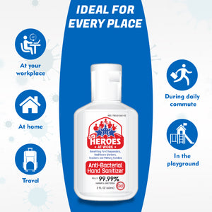 travel size hand sanitizer | our heroes at work