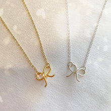 Load image into Gallery viewer, Mini Bow Necklace