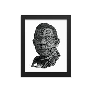 Open image in slideshow, Booker T. Washington Framed Art