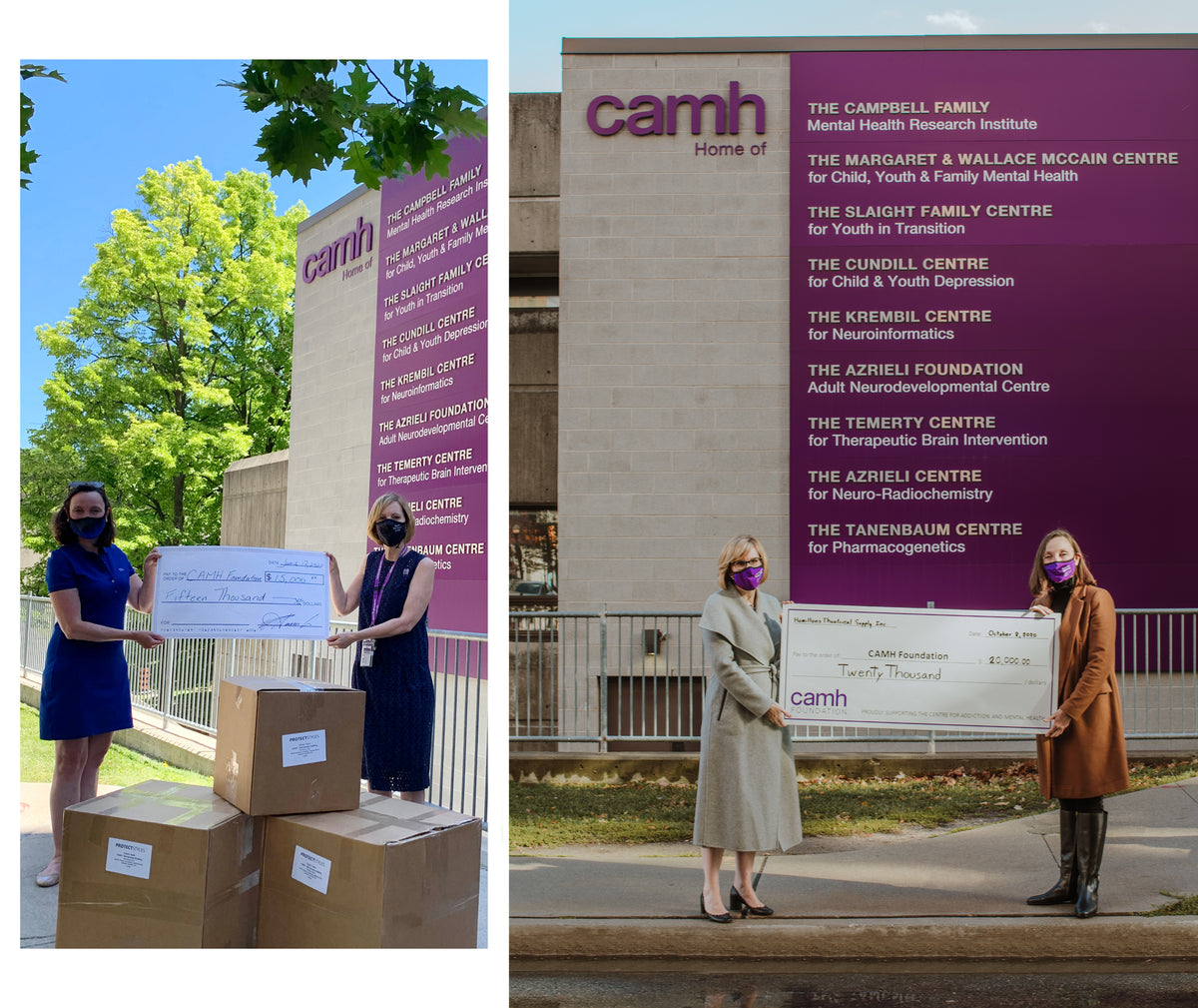 Protect Styles - CAMH Donation