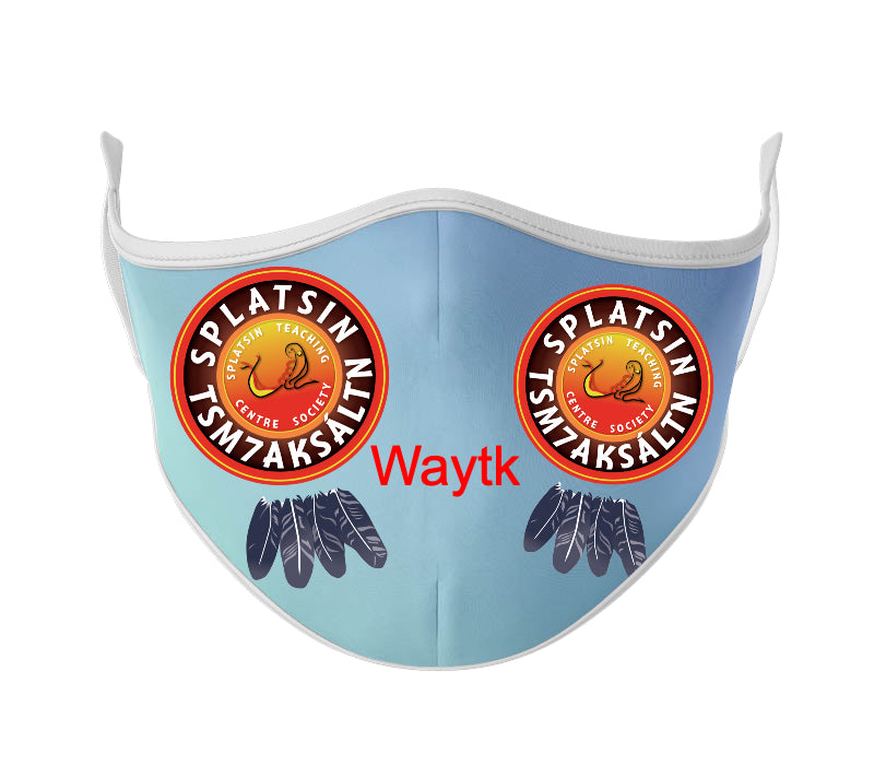 Custom Design - White Base Mask - Protect Styles