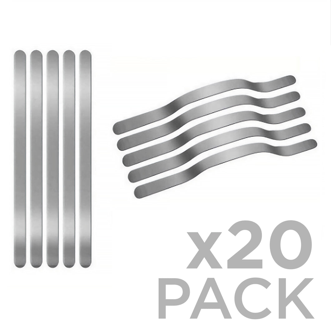 Aluminum Nose Strips 20-Pack - Protect Styles