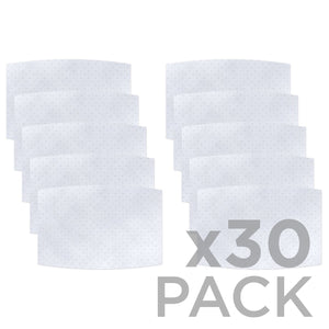 Non-Woven Polypropylene 3-layer Filter 30-Pack ($1.30ea) - Protect Styles
