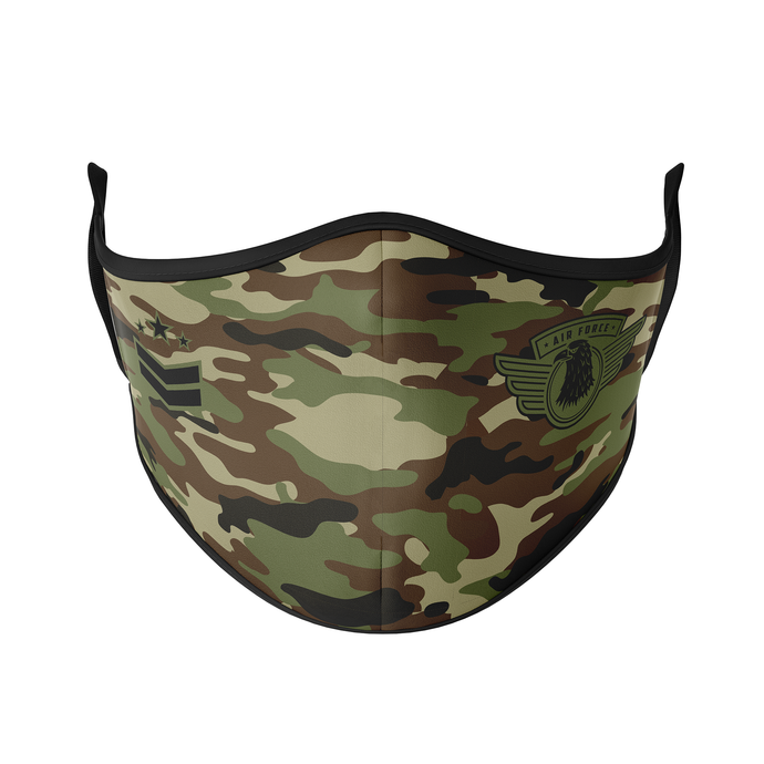 Air Force Reusable Face Mask - Protect Styles