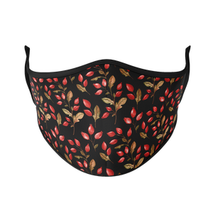 Autumn Flowers Reusable Face Mask - Protect Styles