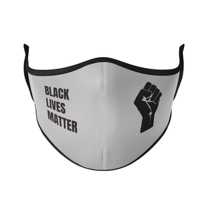 Black Lives Matter Reusable Face Mask - Protect Styles