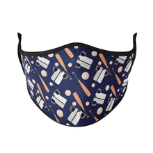 Load image into Gallery viewer, Baseball Reusable Face Masks - Protect Styles