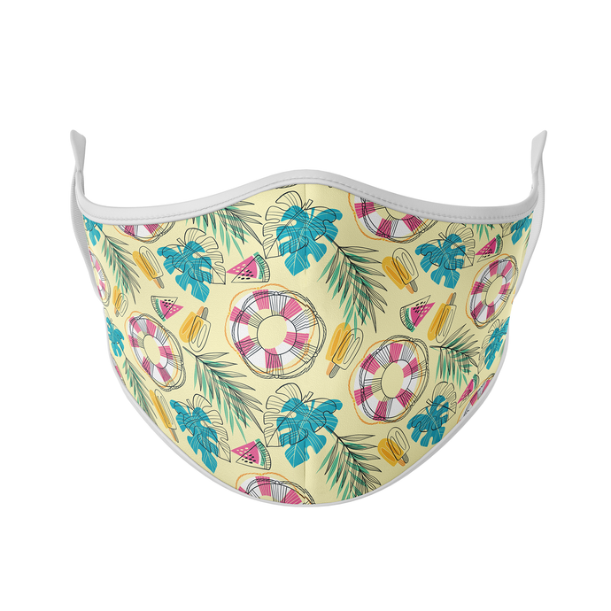 Beach Party Reusable Face Masks - Protect Styles