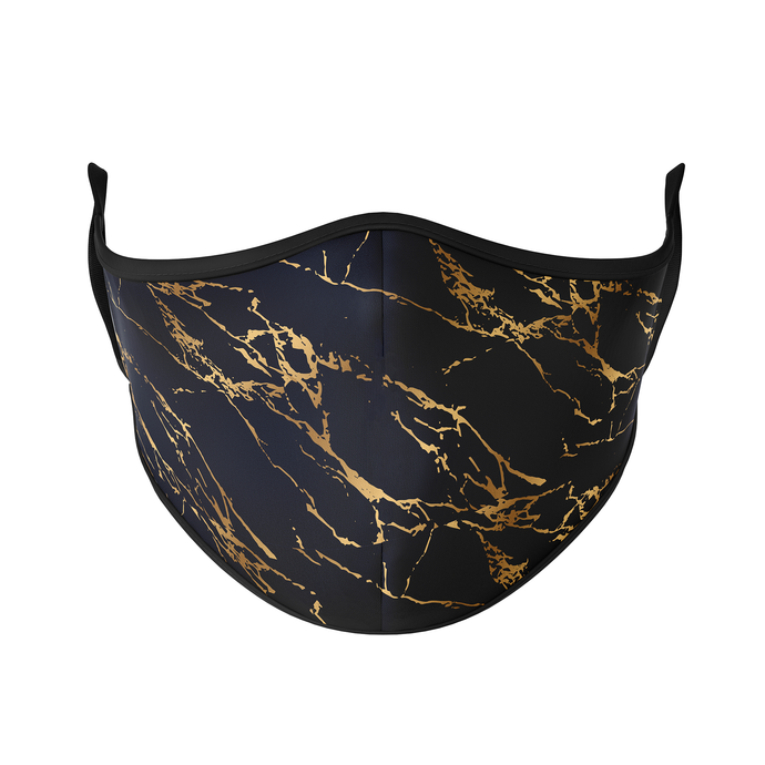 Marble Gold Reusable Face Masks - Protect Styles