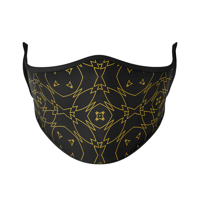 Black Gold Reusable Face Masks - Protect Styles
