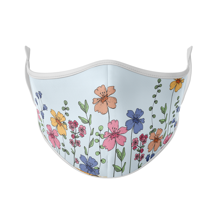 Blooming Flowers Reusable Face Masks - Protect Styles