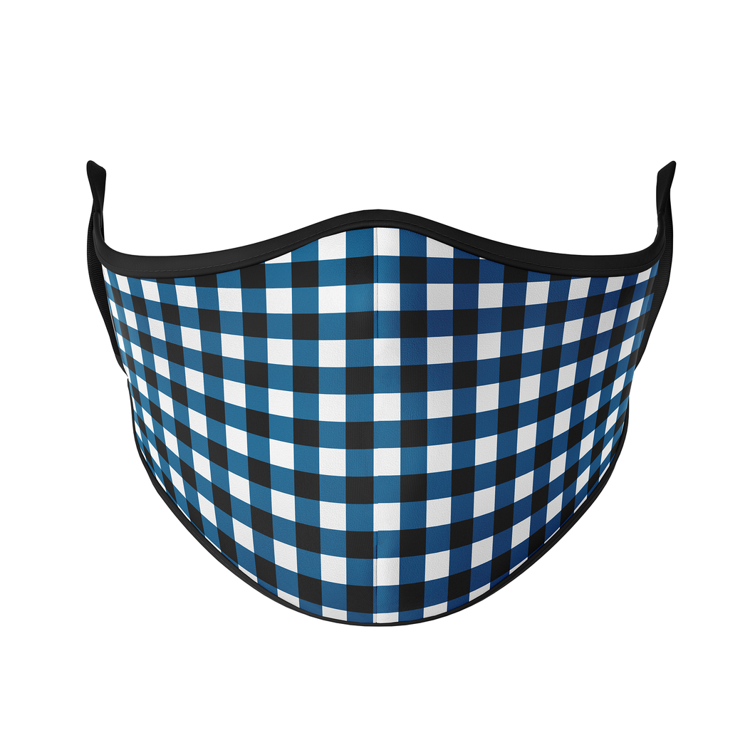 Gingham Checks Reusable Face Masks - Protect Styles