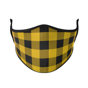 Buffalo Check Reusable Face Masks