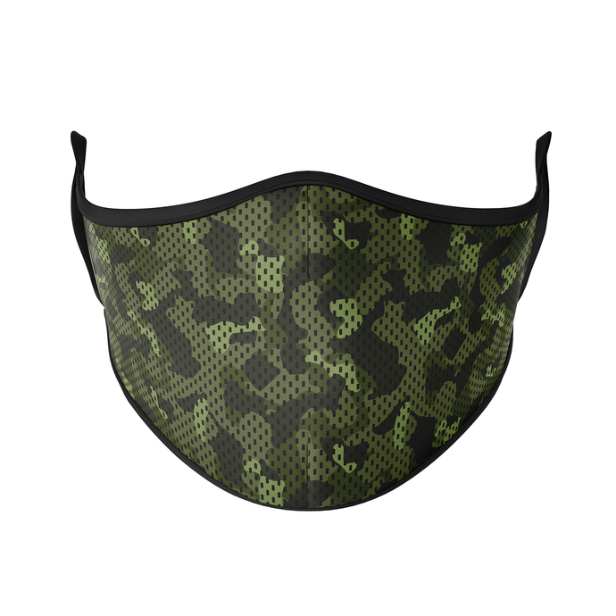 Camo Reusable Face Masks - Protect Styles