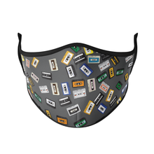 Load image into Gallery viewer, Cassette Reusable Face Masks - Protect Styles