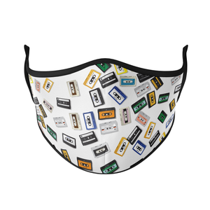 Cassette Reusable Face Masks - Protect Styles