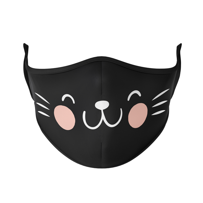 Cat Face Reusable Face Mask - Protect Styles