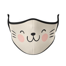 Load image into Gallery viewer, Cat Face Reusable Face Mask - Protect Styles