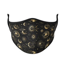 Load image into Gallery viewer, Celestial Reusable Face Masks - Protect Styles