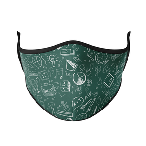 Chalkboard Reusable Face Masks - Protect Styles