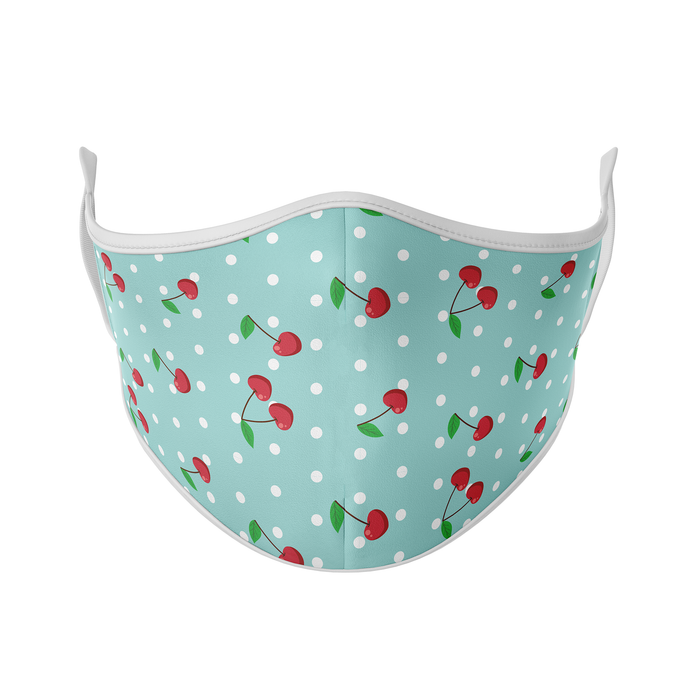 Polka Dot Cherry Reusable Face Mask - Protect Styles