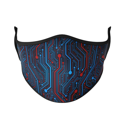 Circuit Board Reusable Face Mask - Protect Styles