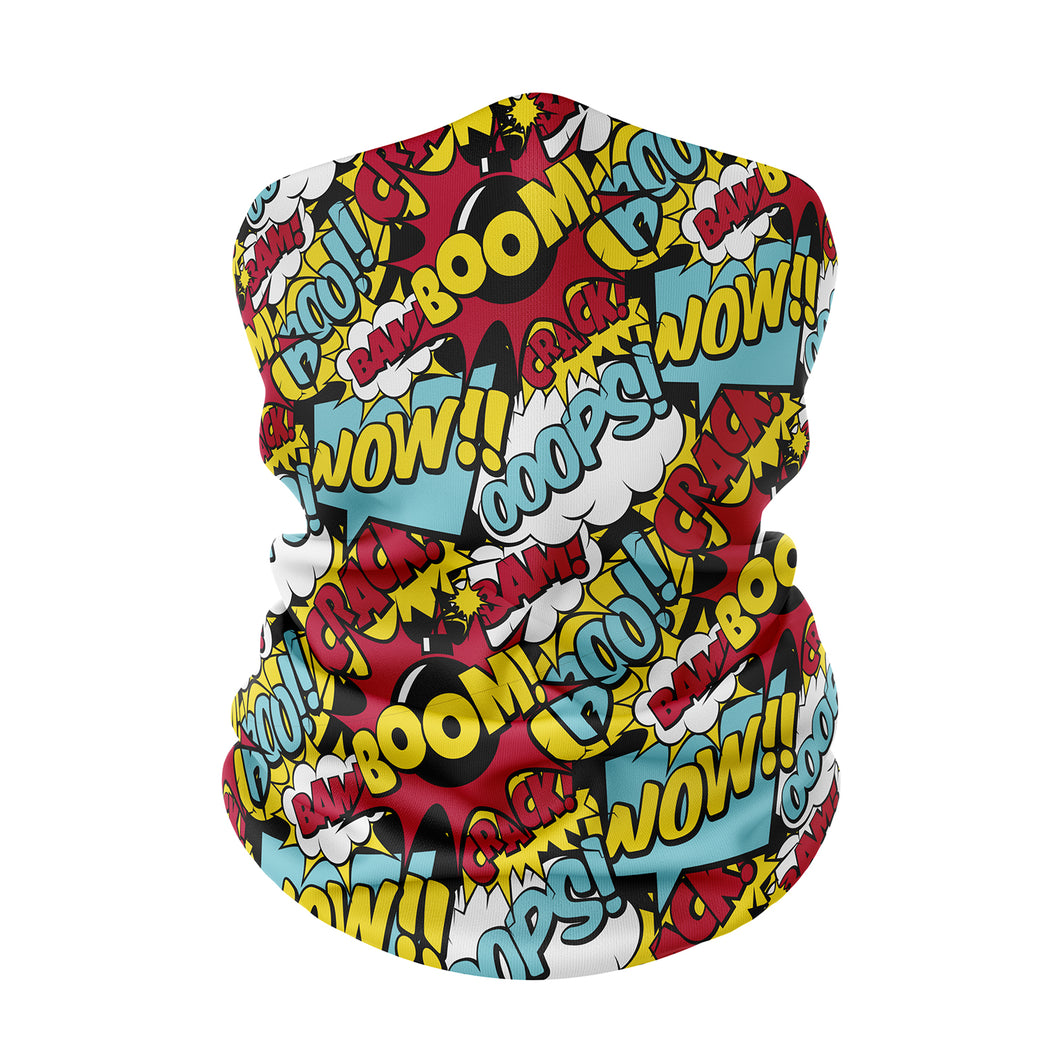 Comic Neck Gaiter - Protect Styles