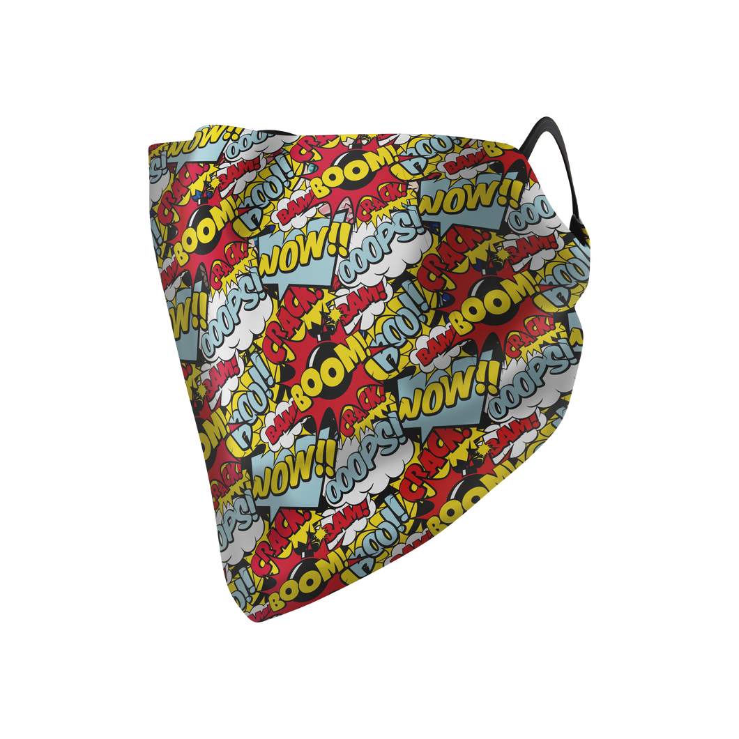 Comic Hankie Mask - Protect Styles